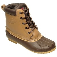 Superior Boot Co. Women's 5-Eye Duck Tan