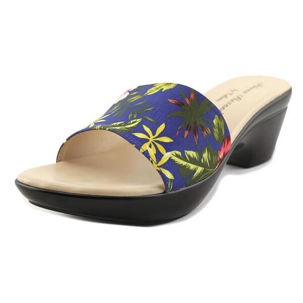 Athena Alexander Lima Women Open Toe Synthetic Multi Color Slides Sandal