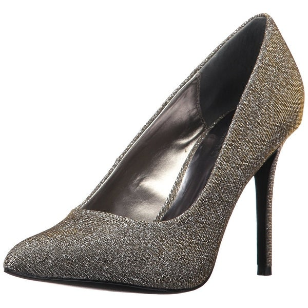 Carlos by Carlos Santana Women's Posy 2 Pump, Pewter Multi, Size 7.0