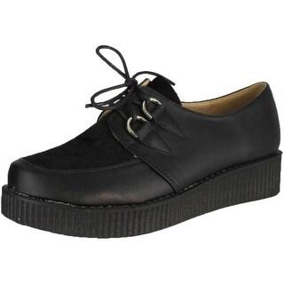 Refresh Women Add-02 Flats - Black/Black - 8.5 b(m) us