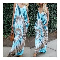 Boho Chic Tye Dye Maxi Dress