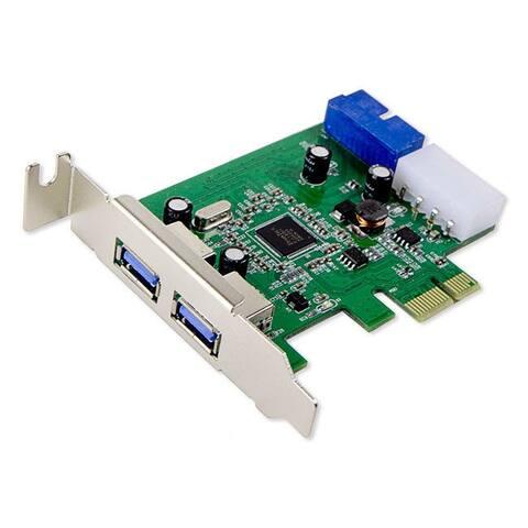 Syba SY-PEX20140 PCI-E x1 Adapter USB 3.0 Controller Card