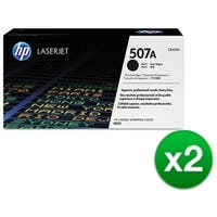 HP 507A Black Original LaserJet Toner Cartridge For US Government (CE400AG)(2-Pack)