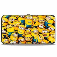 Minions Stacked + Evil Minions 1 Minion Hinged Wallet - One Size Fits most