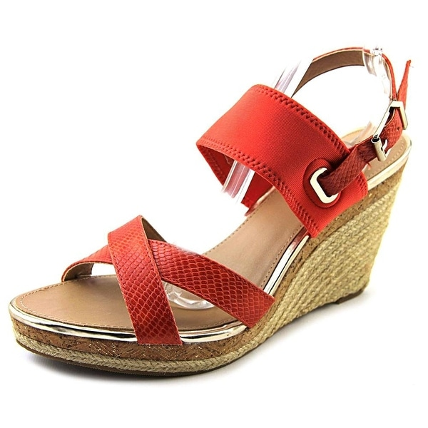 Alfani Womens PURSUE Open Toe Casual Platform Sandals