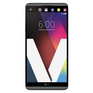 LG V20 H918T T-Mobile Locked 4G LTE Quad-Core Phone w/ Dual Rear Camera (16MP+8MP) - Titan (Certified Refurbished)