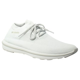 Columbia Womens Chimera Lace White,CoolGrey Fashion Shoes Size 10