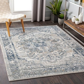 Link to Kredelle Faded Persian Medallion Area Rug Similar Items in Rugs
