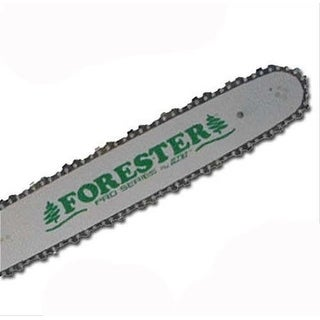 """Forester 18"""" Bar And Chain Combo Kit For Medium Poulan Chainsaws 3/8"""" Pitch .050"""