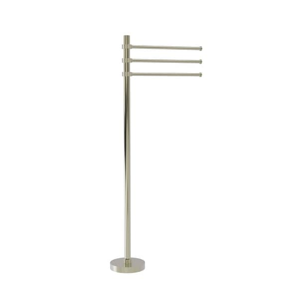 Allied Brass Towel Stand with 3 Pivoting 12-in Arms