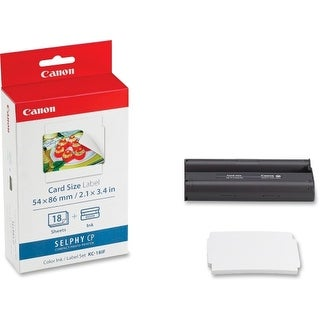 Canon KC-18IF Print CArtridge/Paper Kit Canon KC-18IF Ink / Labels - Cartridge, Sheet