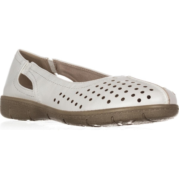 Easy Street Tobago Comfort Flat Loafers, White
