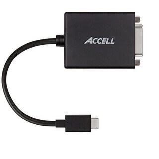 Accell U200b-001B Usb-C To Dvi-D Adapter For Type-C Devices - 1920X1200 @ 60Hz
