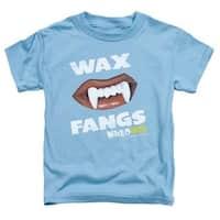 Dubble Bubble-Wax Fangs - Short Sleeve Toddler Tee - Carolina