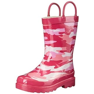 Western Chief Camo Pink Rubber Rain Boots