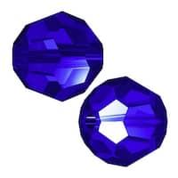 Swarovski Crystal, 5000 Round Beads 4mm, 12 Pieces, Majestic Blue
