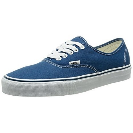 Vans Unisex U Authentic, Navy, 6.5