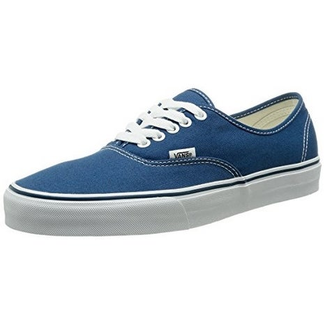 Vans Unisex U Authentic, Navy, 6