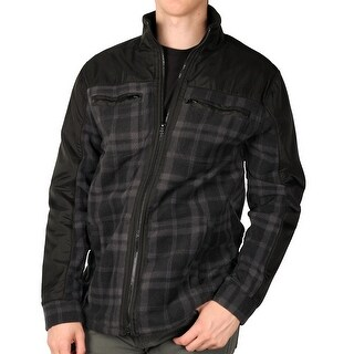 Outback Rider Men's Plaid Arctic Fleece Jacket