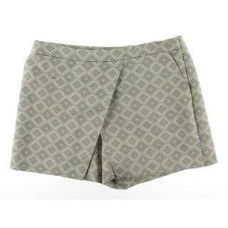 Vince Camuto Womens Serengeti Tile Jacquard Dress Shorts