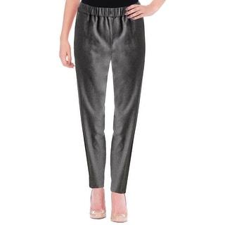 Theory Womens Thorene Casual Pants Wool Solid