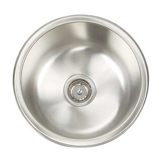 Artisan AO16D8-D Premium Series Stainless Steel 16 Gauge Single Bowl Kitchen Sink