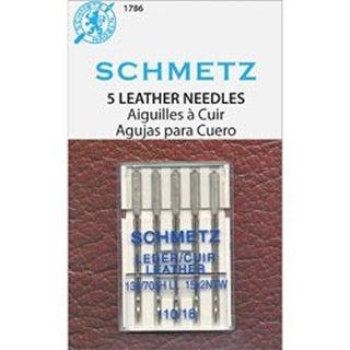 Size 18/110 5/Pkg - Leather Machine Needles