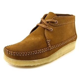 Clarks Originals Wallabee Weaver Men Round Toe Leather Chukka Boot