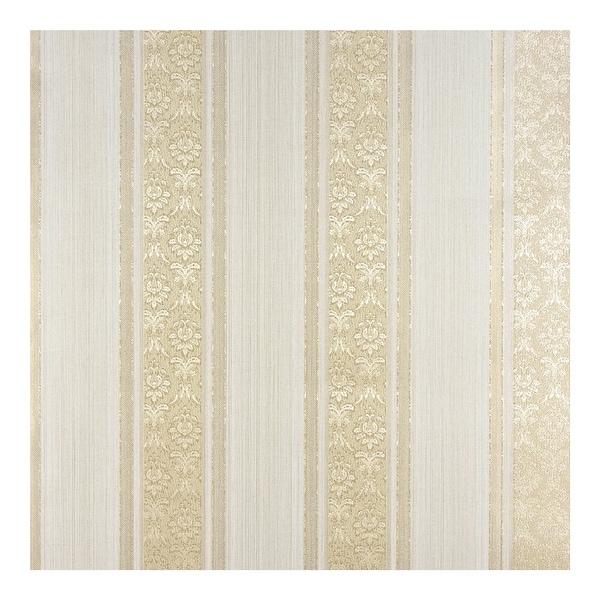 Mackenzie Gold Stripe Wallpaper - 21 x 396 x 0.025. Opens flyout.