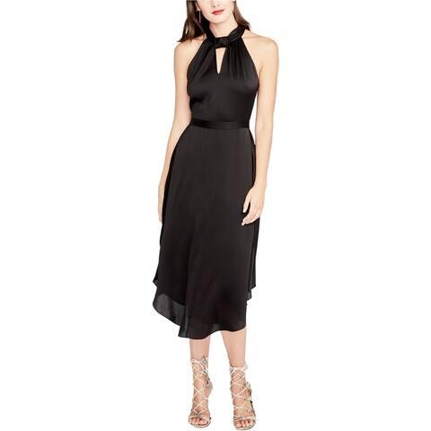 Rachel Roy Womens Twisted A-Line Dress