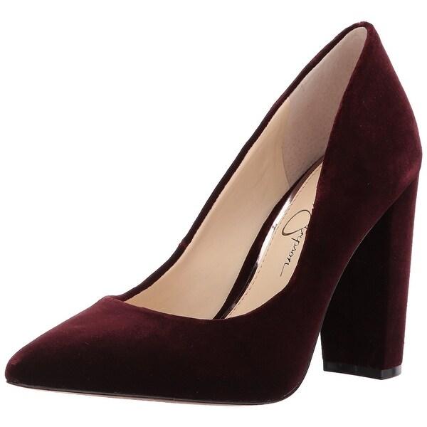 Jessica Simpson Women's Tanysha Pump, Rouge Noir, Size 6.5