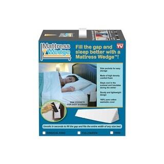 Mattress Wedge MWG004KR King Size Pillow Wedge, White