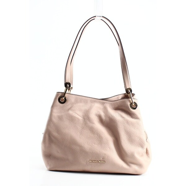 Michael Kors Tote Bag On Sale, Raven Beige, Leather, 2017, one size