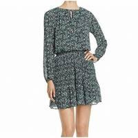 MICHAEL Michael Kors Green Womens Size Medium M Sheath Dress