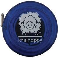 "Blue - Knit Happy Tape Measure 60"""