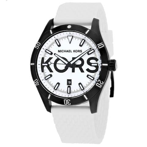 Michael Kors Men's Classicv White Dial Watch - MK8893 - One Size