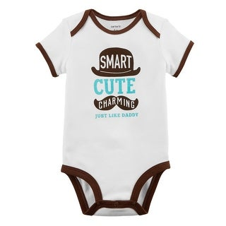 Carter's Baby Boys' Just Like Daddy Collectible Bodysuit