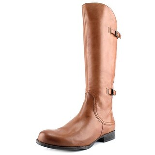 Naturalizer Jamison Women WW Round Toe Leather Brown Knee High Boot