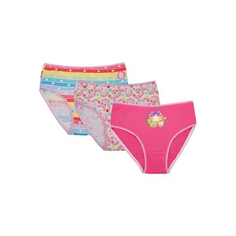 Shopkins Girls Underwear Rainbow Panties 3 Pack Briefs