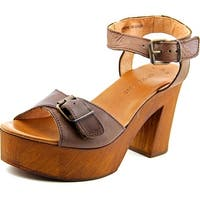 Musse & Cloud Nolea Women  Open Toe Leather  Platform Sandal
