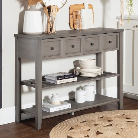 The Gray Barn 48-inch Solid Wood 2-Drawer Buffet