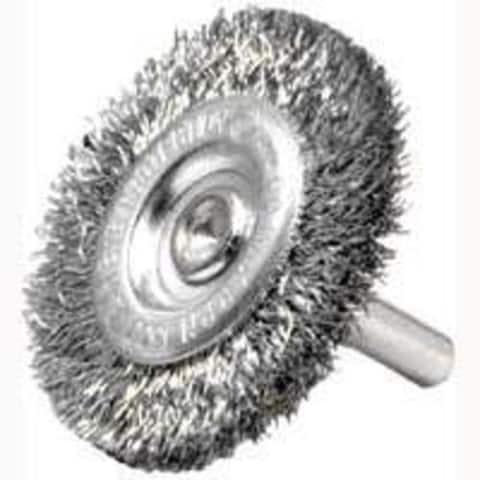 """Weiler 36413 Crimped Wheel Brush, 3"""", Coarse"""