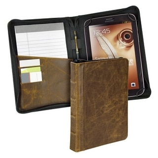 Samsill 35025 Samsill Vintage Carrying Case for 7.9 Tablet - Tan - Polyvinyl Chloride (PVC)