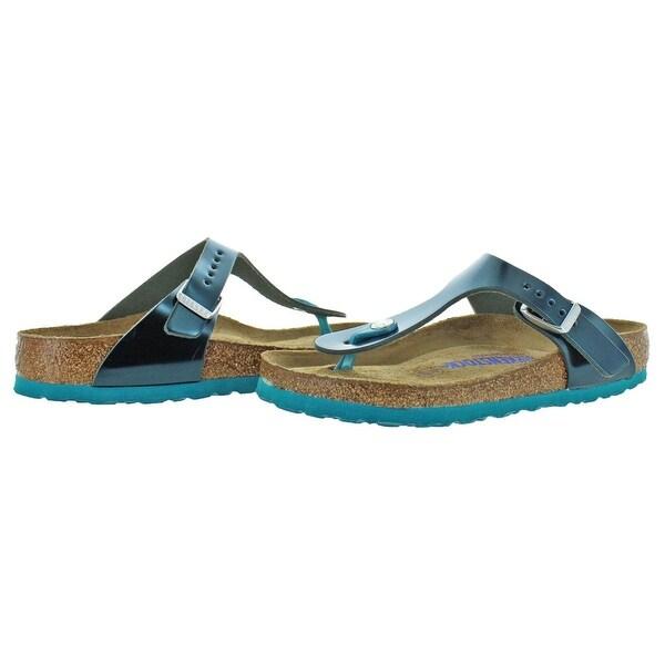 Shop Birkenstock Womens Gizeh T Strap Sandals Birko Flor