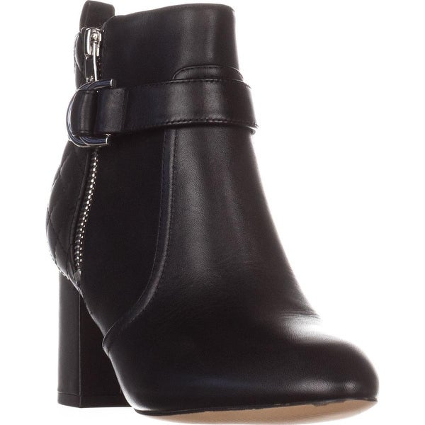 Marc Fisher Weity Ankle Boots, Black Leatherb