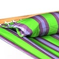 Sunnydaze 2-Person Quilted Hammock with Spreader Bars and Detachable Pillow - Hammock Stand Included - Thumbnail 15