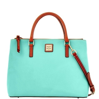 Dooney & Bourke Pebble Grain Willa Zip Satchel (Introduced by Dooney & Bourke at $288 in Jan 2014) - Mint