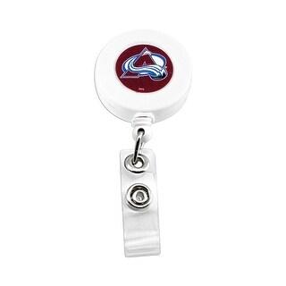Colorado Avalanche Retractable Badge Reel Id Ticket Clip NHL