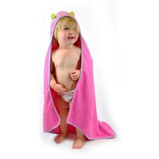 Design Imports Kids Hooded Towel Blue Monster