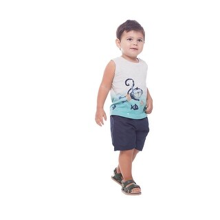 Pulla Bulla Baby Boys' Tank Top Graphic Tee